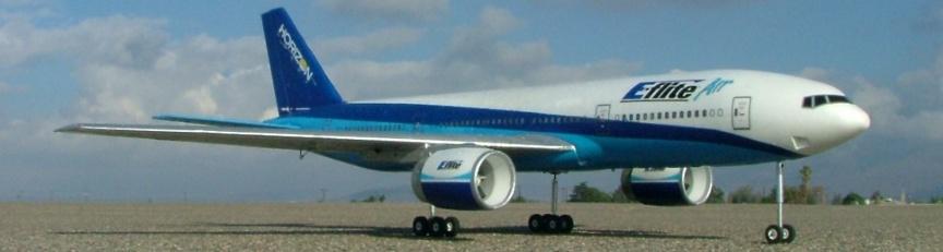 E-Flight Airliner Retract Project